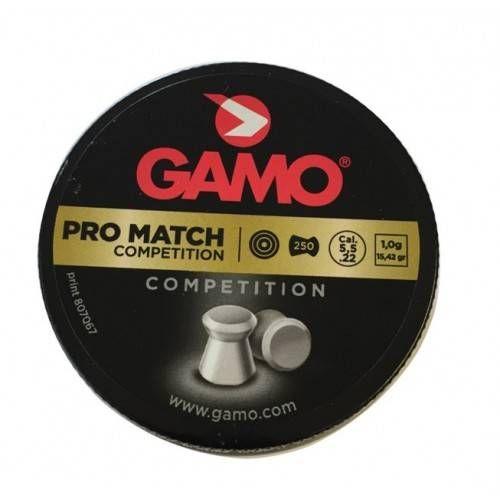 GAMO DIABOLO PRO MATCH Cal. 5,5mm *Conf. 250pz*
