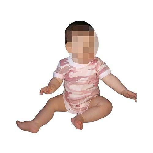 USA TUTINA BODY LINEA BABY BABY PINK CAMO