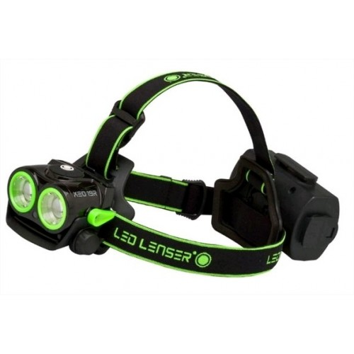 LED LENSER TORCIA LED FRONTALE XEO19R BLACK& GREEN HIGH PERFORMANCE LINE SERIE H