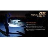 FENIX TORCIA LED PD35 TATTICA 1000 LUMENS BLACK