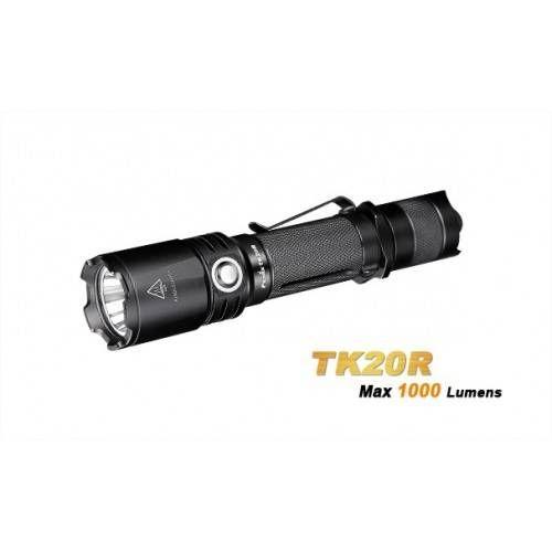 FENIX TORCIA LED TK20 RICARICABILE 1000 LUMEN