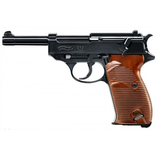UMAREX WALTHER PISTOLA P38 CO2 -7,5J CAL. 4,5 C.N. 434