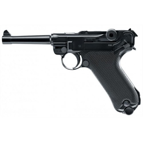 UMAREX PISTOLA LEGENDS P08 BLOWBACK CO2 -7,5J CAL 4,5 C.N. 633/604