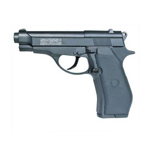 SWISS ARMS PISTOLA P84 CO2 -7,5J CAL 4,5 C.N. 755