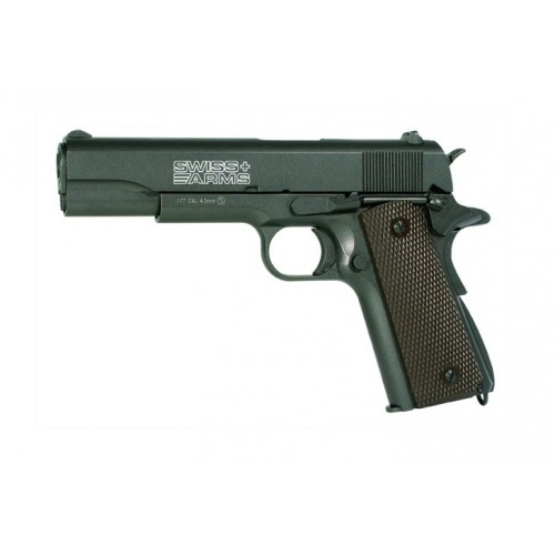 SWISS ARMS PISTOLA P1911 CO2 -7,5J CAL 4,5 C.N. 757