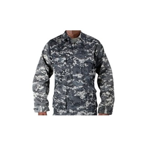 USA GIACCA BDU POLYCOTTON URBAN DIGITAL CAMO