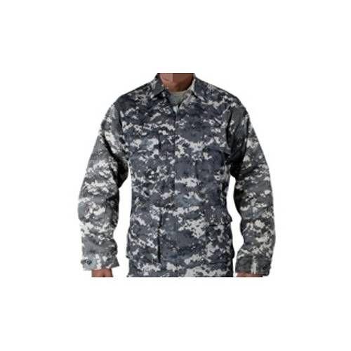 USA GIACCA BDU POLYCOTTON URBAN DIGITAL CAMO