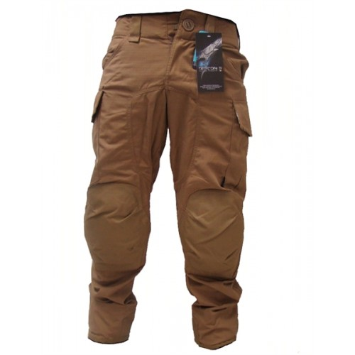 DEFCON5 PANTALONI POLYCOTTON RIP-STOP ADVANCE TACTICAL COYOTE TAN