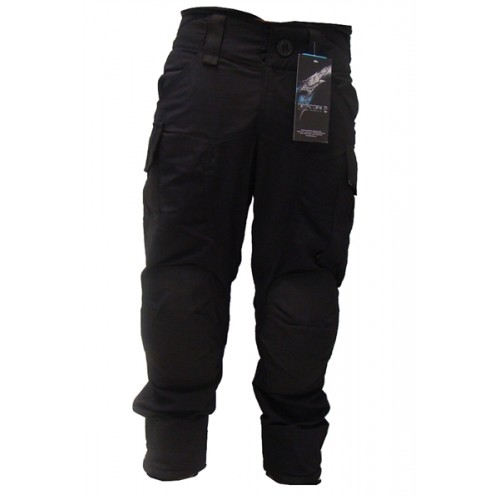 DEFCON5 PANTALONI POLYCOTTON RIP-STOP ADVANCE TACTICAL NERO