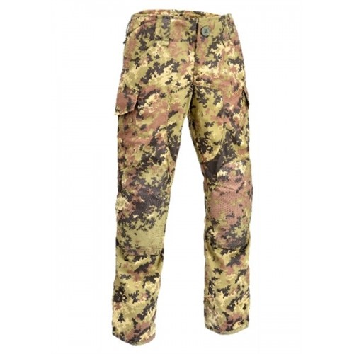 DEFCON5 PANTALONI POLYCOTTON RIP-STOP ADVANCE TACTICAL VEGETATO