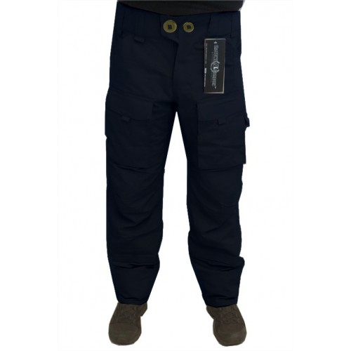 THE TOWER COMPANY PANTALONI GIZMO BLU NAVY