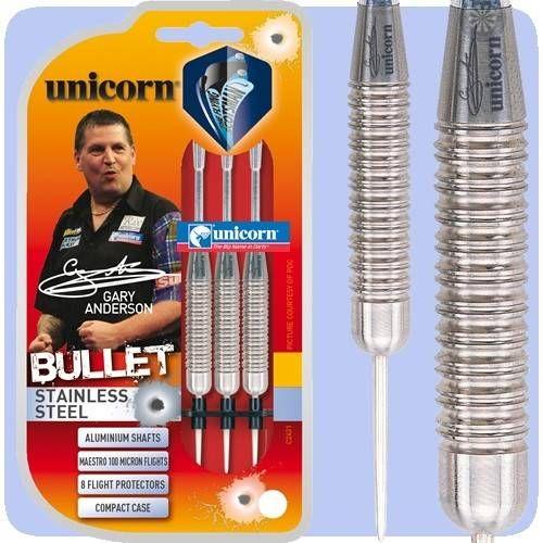 FRECCETTE UNICORN IN ALLUMINIO GARY ANDERSON BULLET *Conf. da 3pz*