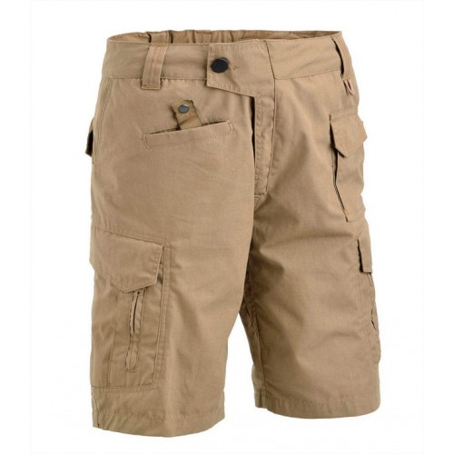 DEFCON5 PANTALONI TACTICAL SHORT POLYCOTTON RIPSTOP COYOTE TAN