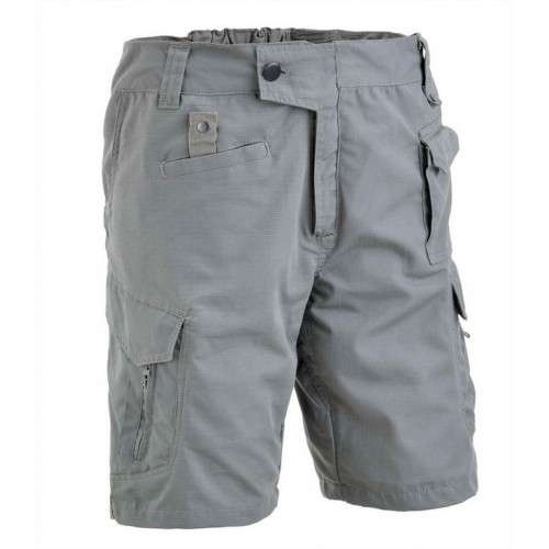 DEFCON5 PANTALONI TACTICAL SHORT POLYCOTTON RIPSTOP WOLF GREY