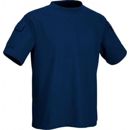 DEFCON5 T-SHIRT TACTICAL MANICA CORTA CON TASCHE NAVY BLUE