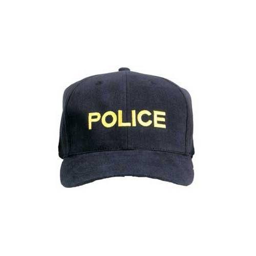 USA BERRETTO POLICE NERO