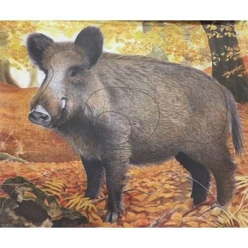 TARGA ANIMALE JVD CINGHIALE