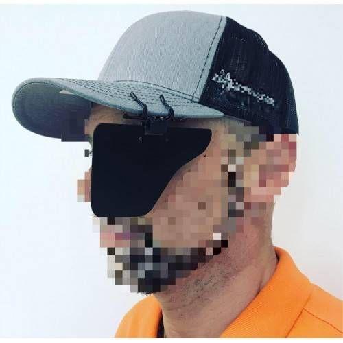 GUNSTAR EYE BLINDER (oscuratore con clip per berretto)