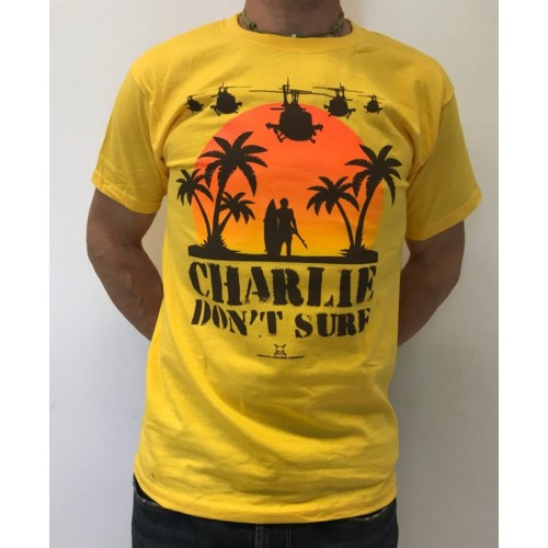 DEATH HOUSE T-SHIRT CHARLIE YELLOW