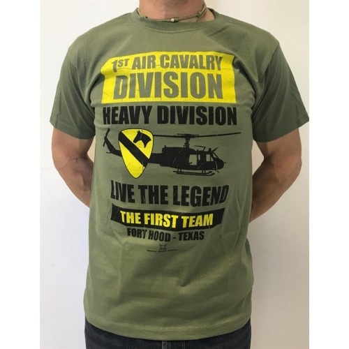 DEATH HOUSE T-SHIRT IR CAVALRY OLIVE