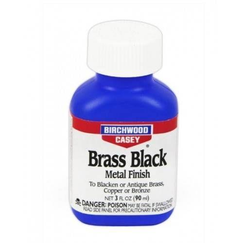 BIRCHWOOD BRASS BLACK METAL FINISH BRUNITORE PER BRONZO-OTTONE-RAME 3oz