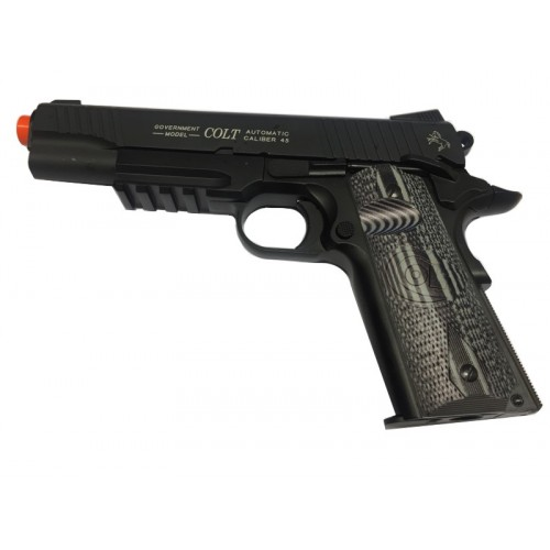 CYBERGUN PISTOLA SOFTAIR CO2 COLT 1911 COMBAT SCARRELLANTE