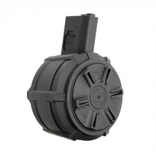 G&G CARICATORE SOFTAIR DRUM MAG ELETTRICO PER M4/M16 2300 PALLINI