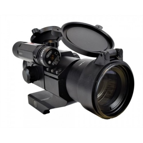 JS TACTICAL MICRO RED DOT SIGHT 30mm CON LASER ROSSO (@)