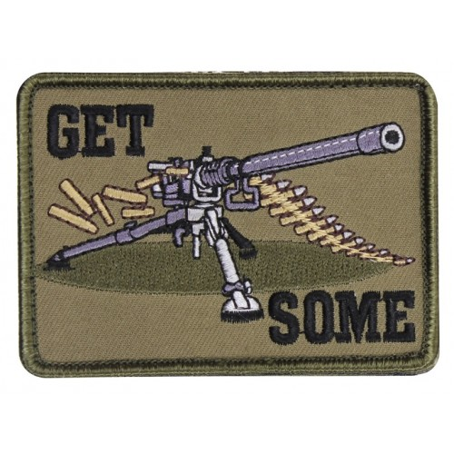 """USA PATCH """"GET SOME"""" CON VELCRO"""