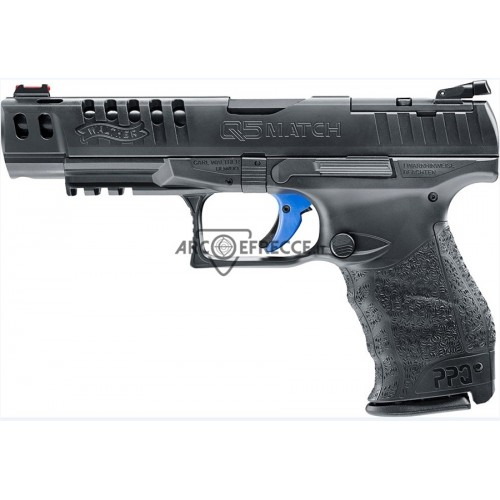WALTHER PISTOLA Q5 MATCH 5 CAL. 9x21 +2C