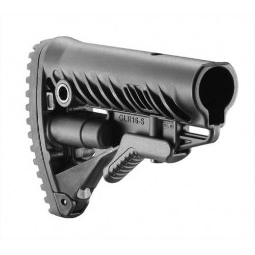 FAB DEFENSE CALCIO COLASSABILE PER M4/AR15 GLR16 NERO
