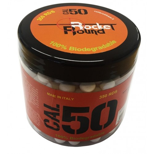 ROUND ROCKET PALLINI PLASTICA BIO T4E .50 *Conf. da 350pz*