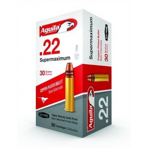 AGUILA CARTUCCE CAL .22RL SUPER MAXIMUM 30grs *Conf. 50pz*