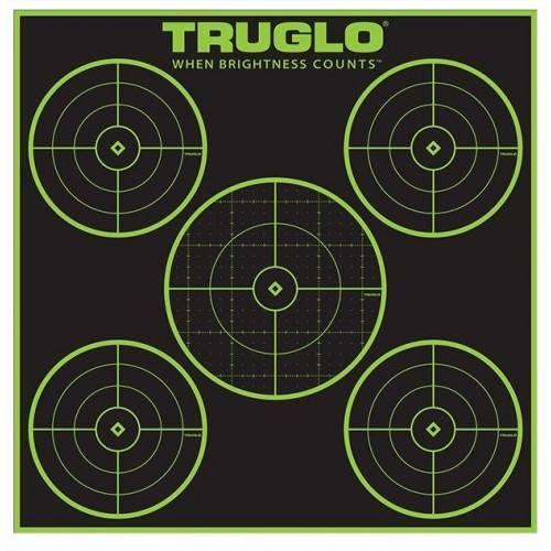 """TRUGLO BERSAGLIO 5 BULL 12""""x12"""" *Conf. da 12 pz*"""