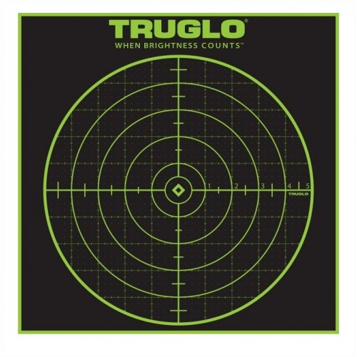 "TRUGLO BERSAGLIO 100 YARDE 12""x12"" *Conf. da 50pz*"