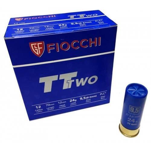 FIOCCHI CARTUCCE TT TWO CAL. 12 24g pallino 9,5 *Conf. da 25pz*