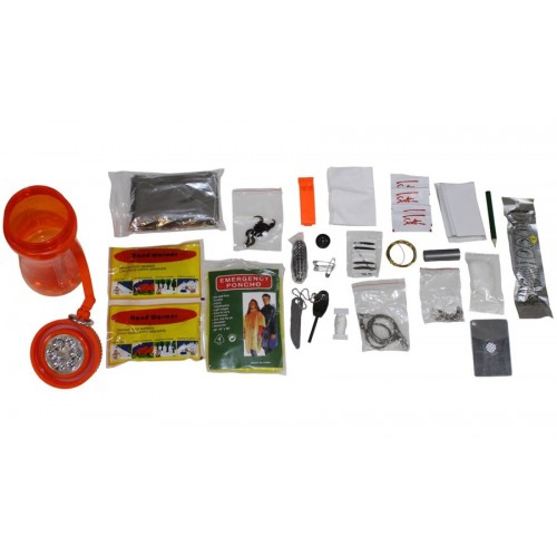 DE BORRACCIA CON KIT SURVIVAL EXTREME