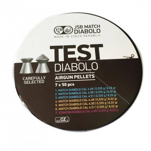 JSB DIABOLO TEST MODELLI E CALIBRI MISTI 4,5mm MATCH/STRATON *conf.350pz.*