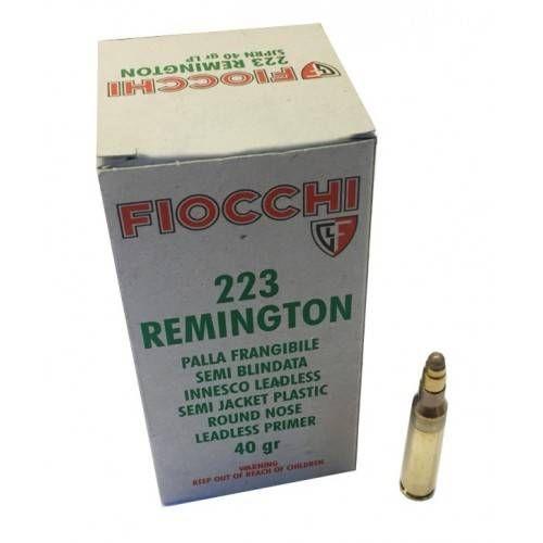 FIOCCHI CARTUCCE CAL. 223 REM SJPRN FRANGIBILE 40grs *Conf. da 50pz*