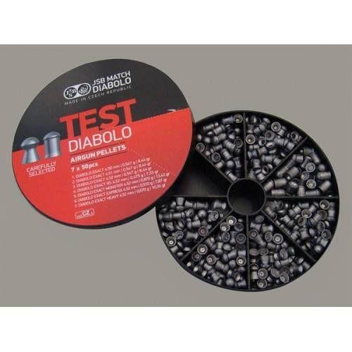 JSB DIABOLO TEST MODELLI E CALIBRI MISTI 4,5mm EXACT *conf.350pz.*