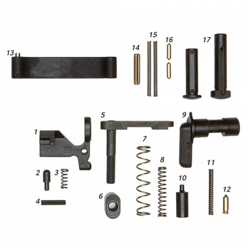 GEISSELE KIT COMPONENTI PER LOWER MIL SPEC AR15