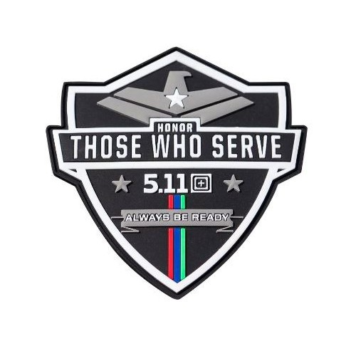 5.11 PATCH 81835 HONOR THOSE WHO SERVE