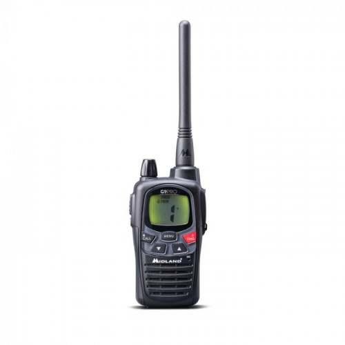 MIDLAND RADIO G9 PRO CON CARICATORE DA TAVOLO e 4 BATTERIE