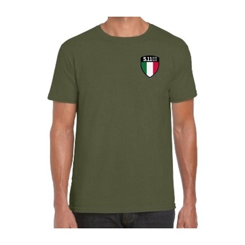 5.11 T-SHIRT 41264 SHIELD ITALY