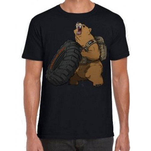 5.11 T-SHIRT 41243 GRIZZLY NERA