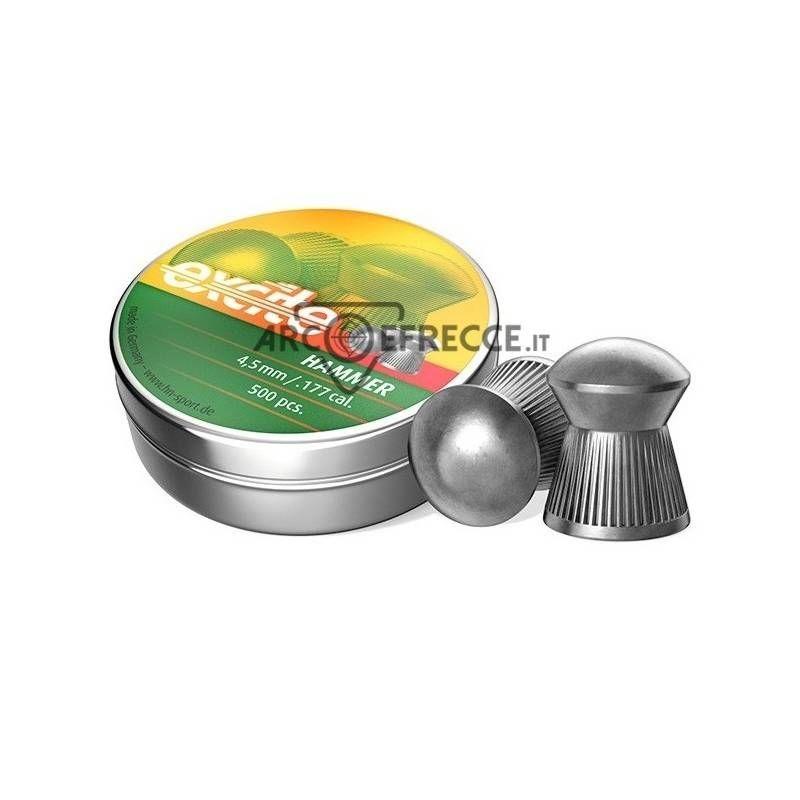 H&N DIABOLO HAMMER 4,5mm 0,51gr *Conf. 500pz*