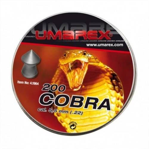 UMAREX DIABOLO A PUNTA COBRA CAL. 5,5mm 1,02gr *Conf. 200pz*