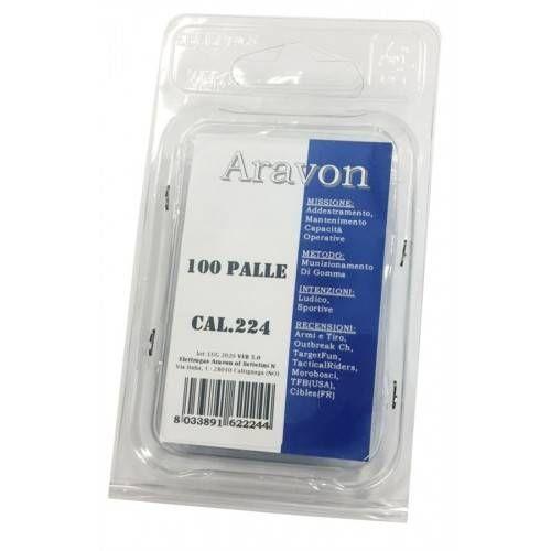 ARAVON PALLE PER CARTUCCIA TRAINING cal 223 *Conf. 100pz*