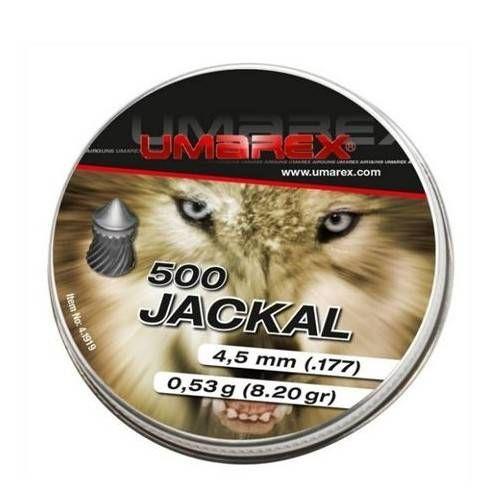 UMAREX DIABOLO A PUNTA JACKAL CAL. 4,5mm 0,53gr *Conf. 500pz*