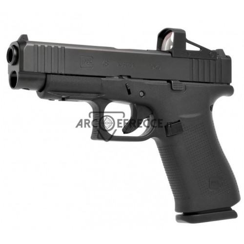 GLOCK PISTOLA MOD 48 RAIL FS MOS COMBO CON RED DOT CAL 9x21 +1C